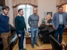 К.С. Денисов, М.В. Рахлин, В.И.Ушанов и директор института С.В. Иванов
